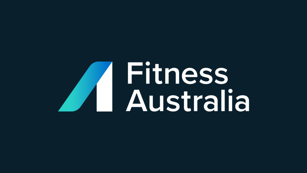 Fitness Australia logo by Messy Collective