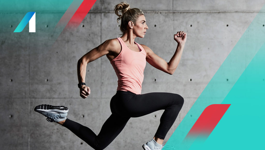 Fitness Australia 'We Professionalise Exercise' banner by Messy Collective