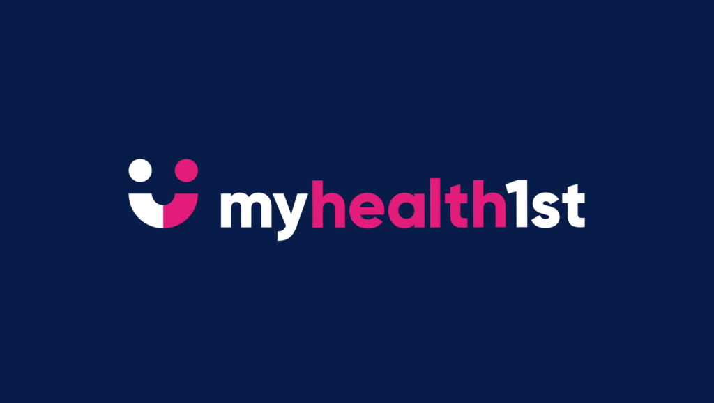 MyHealth1st logo by Messy Collective