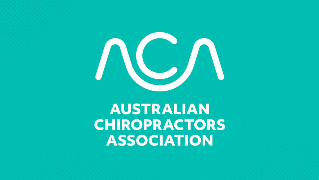 Australian Chiropractors Association logo by Messy Collective