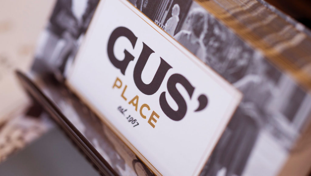 Gus' Place Branding – Print Business Card