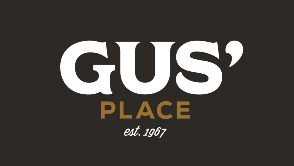 Gus' Place Branding - Logo