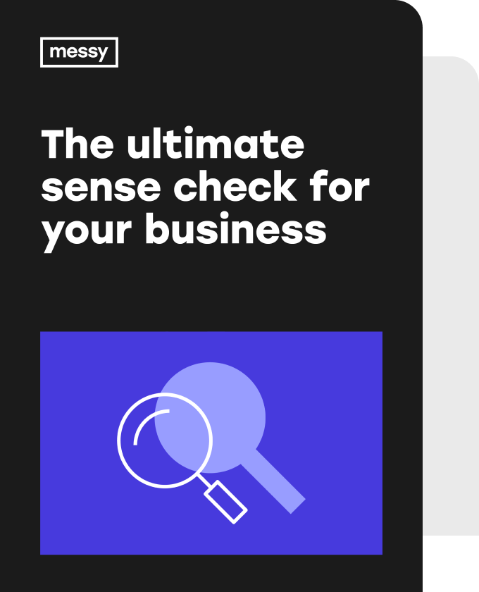 The Ultimate Sense Check for your Business eBook cover