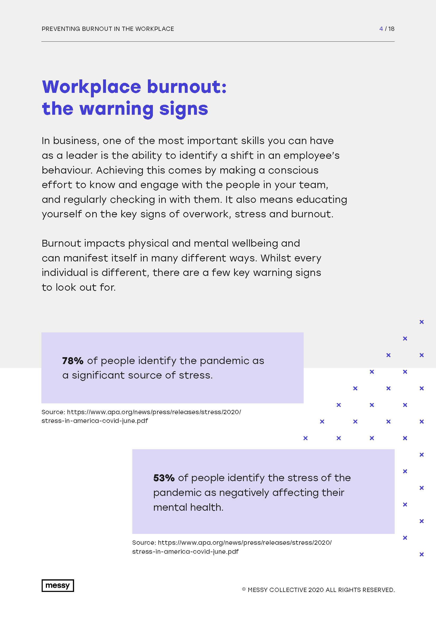 Preventing Burnout in the Workplace guide page 4