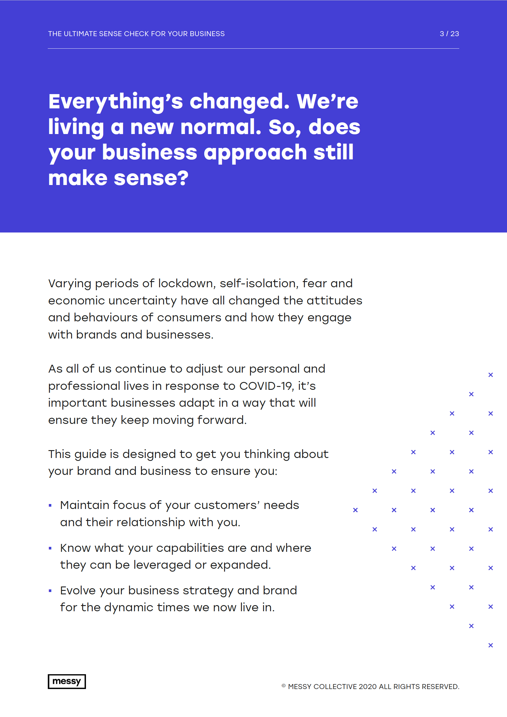 The Ultimate Sense Check for your Business guide - page 3